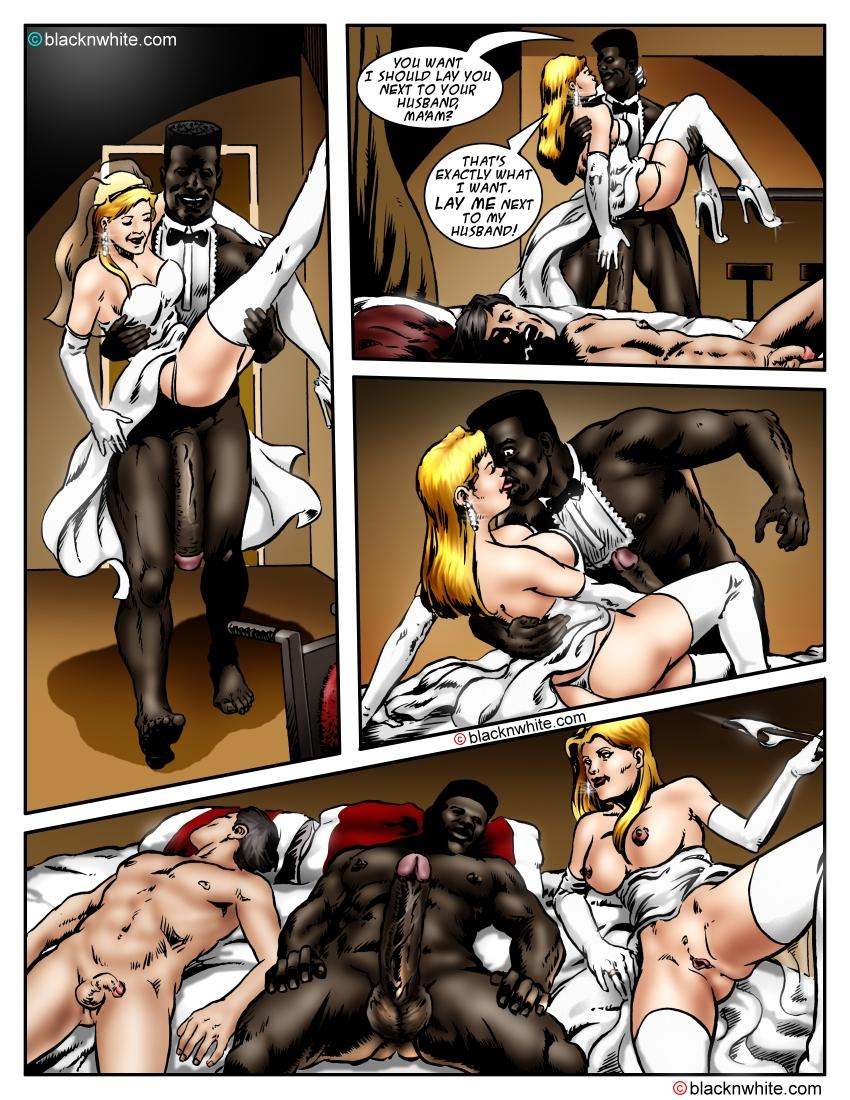 Interracial cuckold sex cartoon think, that you
