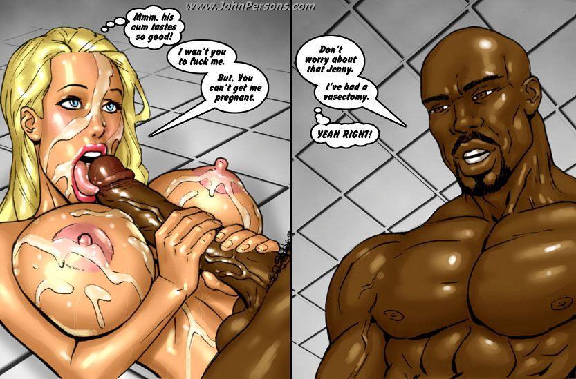 Adult comics shower
