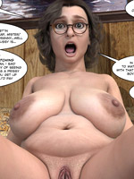 Sexy red chick gets a lot of fucking in super cool cartoon porn