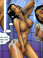 Hot porn artwork with awesome scenes of bdsm with famous toon characters participation