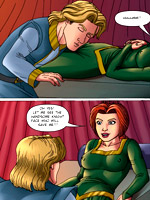 Dirty red daphne gets her mouth full of jizz after hot blowjob in awesome cartoon porn