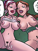 Stunning blonde toon stunner gets gangbanged by black guys outdoors.