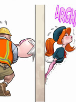 The coolest porn comics with beautiful busty ladyboys