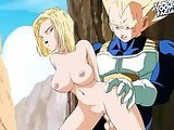Broly, Android 18 from Dragonball Z